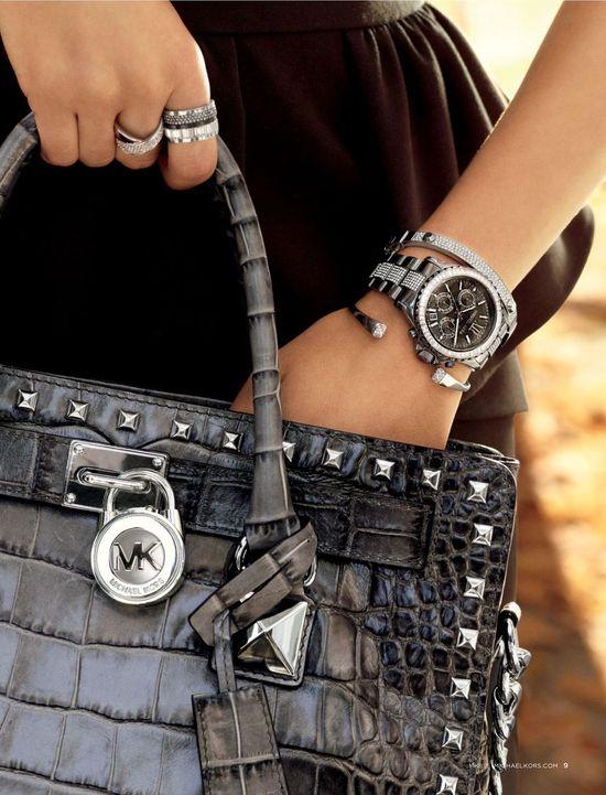 Michael Kors Fall 2013 Handbag, Watch