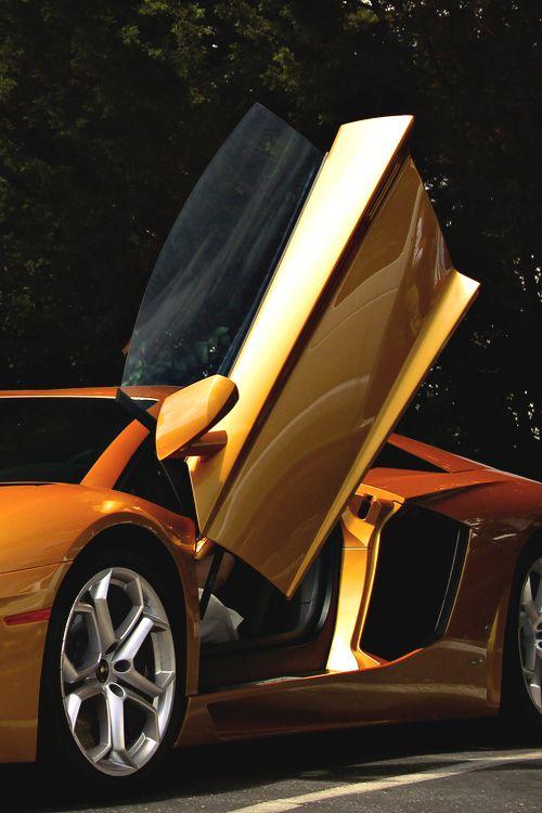 ? Gold car