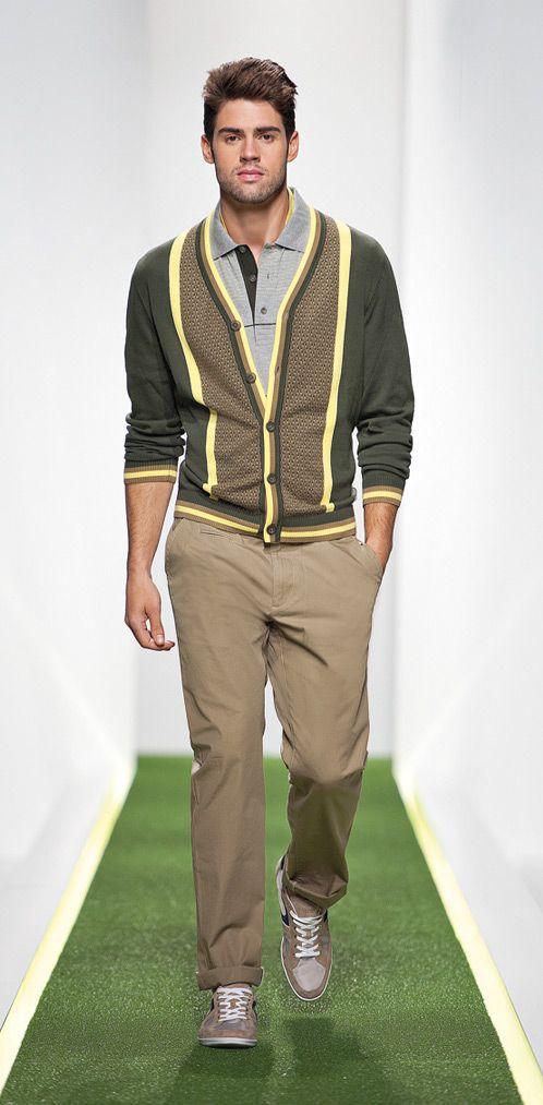 Cardigan!  Hugo Boss Green SS 2012