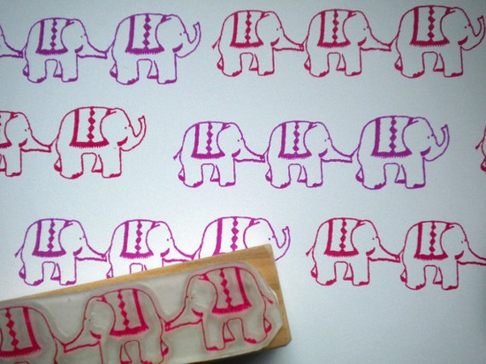 elephant walk stamp