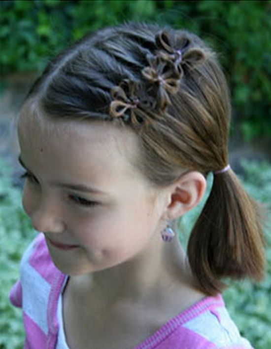 Girl's #hairstyle