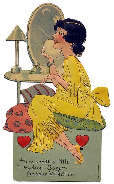 Powdered Sugar - Valentine - c. 1930