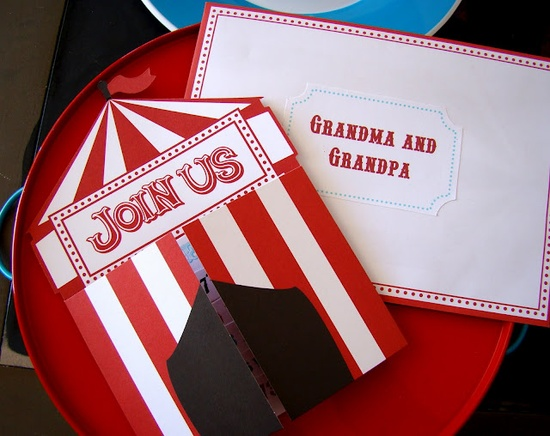 CirCus/CaRNivAl BirThdaY PaRty