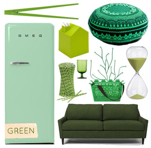 Rainbow roundups! Our favorite colorful products: GREEN #green