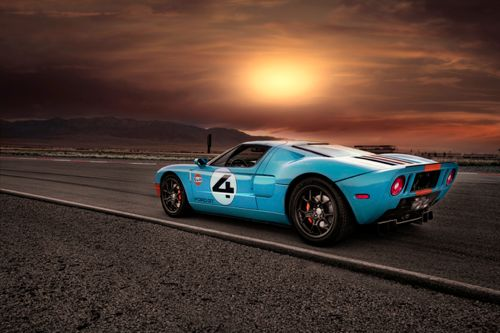GT40 #gt #ford #racing #sunset #cars #auto #speed #beyerford #morristown #newjersey