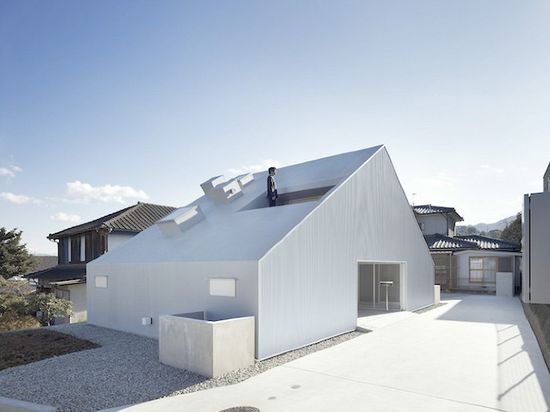 Cloudy house by Takao Shiotsuka Atelier on thisispaper.com