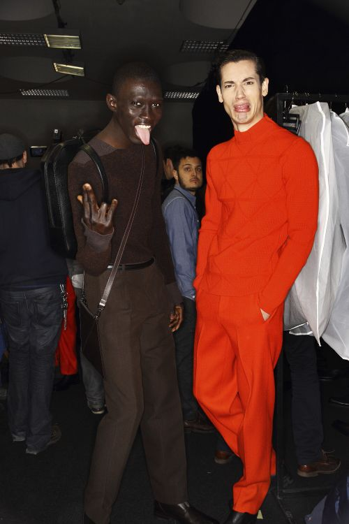 Top 10 Goofiest Poses From Men Fashion Week Backstage