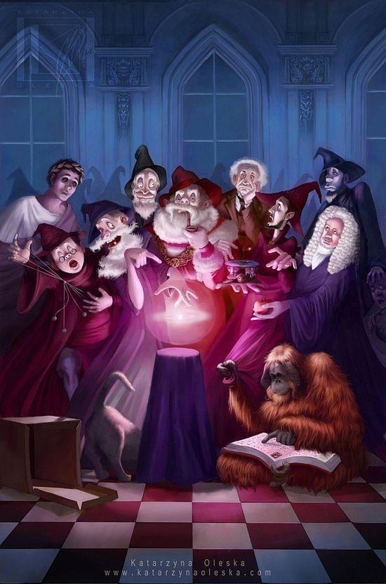 Character Illustrations by Katarzyna Oleska