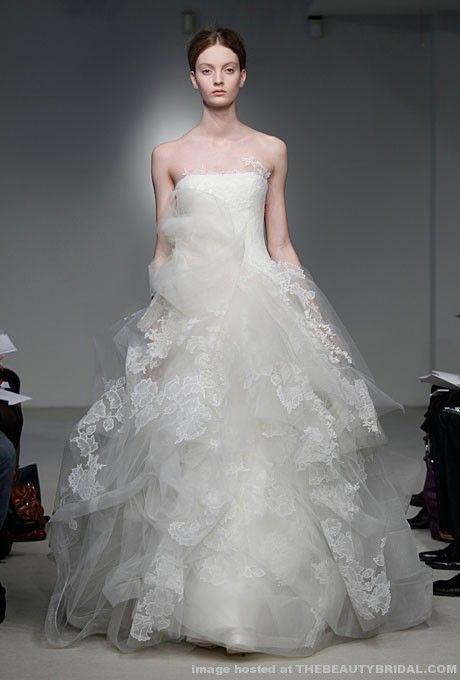 Vera Wang Spring 2012 Bridal Collection
