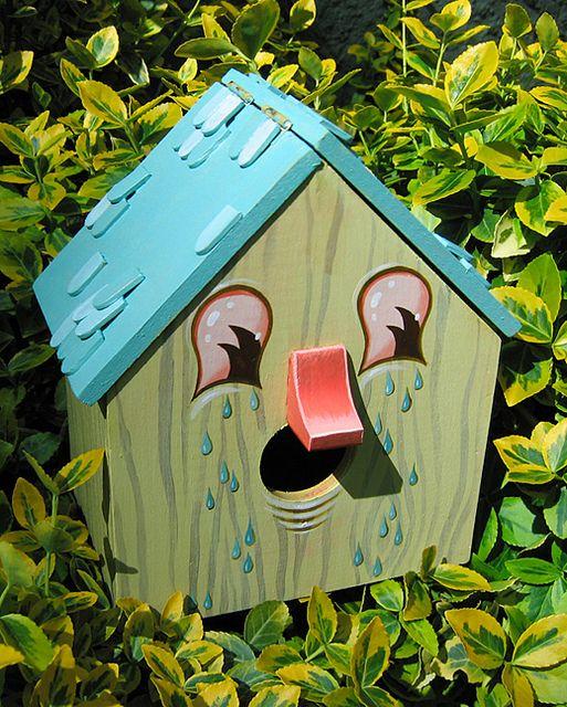 Birdhouse by Travis Lampe.