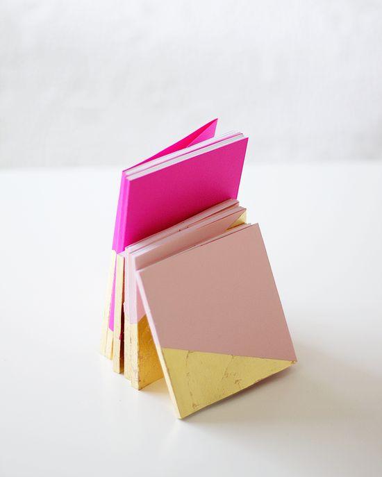 gold foil journals