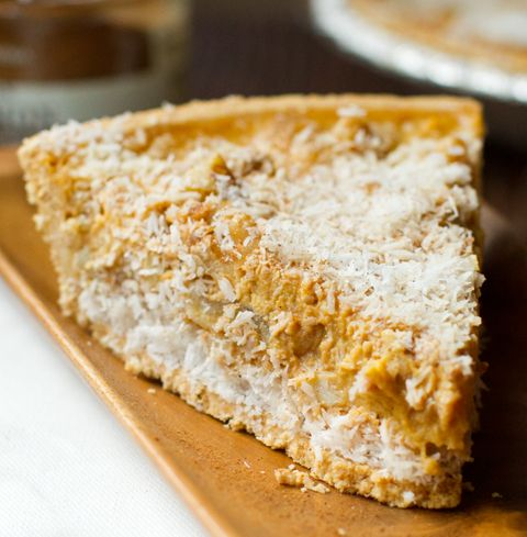 NO-BAKE! Coconut Pumpkin Pie