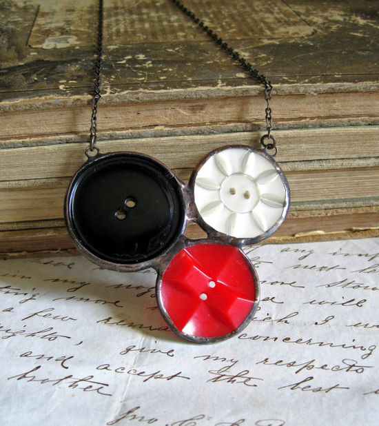 Soldered buttons