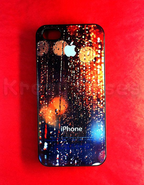 Iphone 5 Case New iPhone 5 case Rain Drop on apple by KrezyCase, $15.95