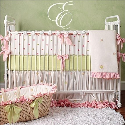 Elegant baby room