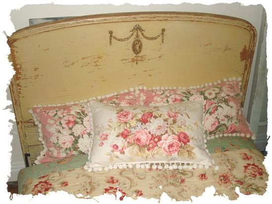 Romantic Cottage Shabby Chic Pillows