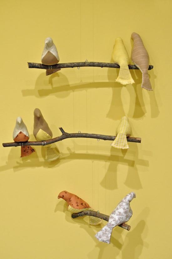 Custom 3 Tiered Bird Mobile for Nursery van lacey414 op Etsy, $55,00