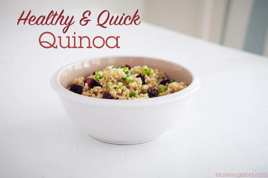 healthy & quick quinoa recipes
