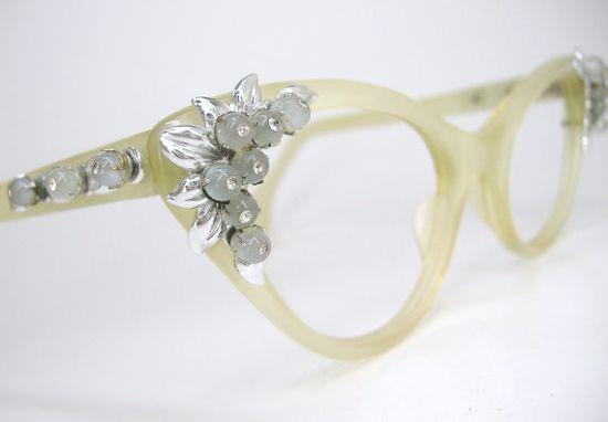 Vintage Schiaperelli glasses