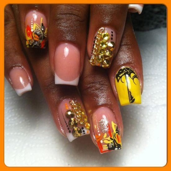 Creative #NailArt by creative nails