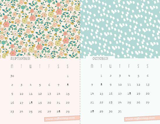Desktop Wallpaper Calendar