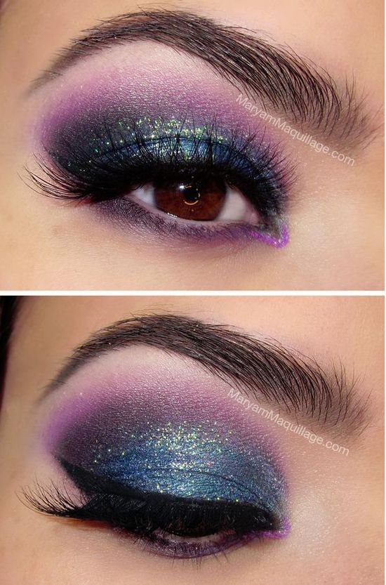 """""""Holiday Lights"""" Smokey Eye -- Curated by Luscious Lashes Inc"""