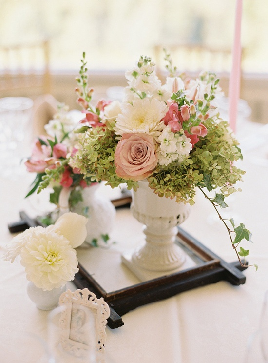 Flowers by stevenbrucedesign..., Photography by charlottejenkslew...  Using frames as trays