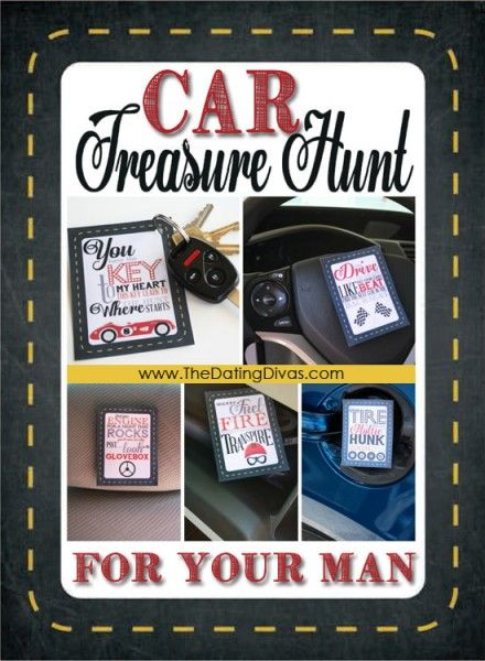 Car Treasure Hunt from The Dating Divas #datenight #marriage #spouse #dating