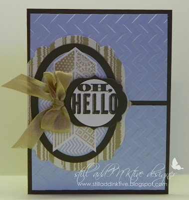 Stampin' Up! Oh, Hello by Debbie Henderson, Debbie's Designs.