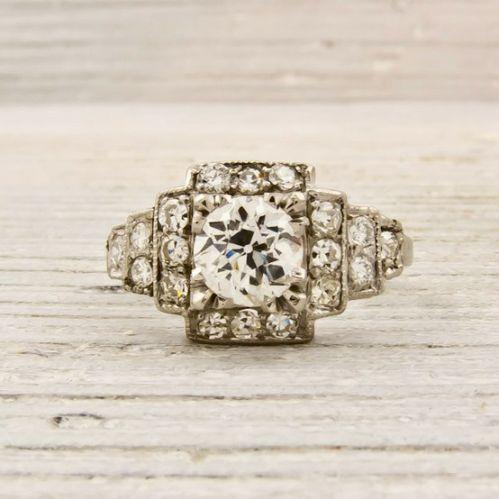 cool, antique / unique wedding ring