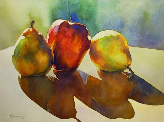 Original watercolor artwork by Kandi Thompson