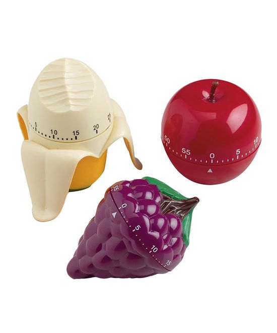 Fresh Fruits Kitchen Timers.