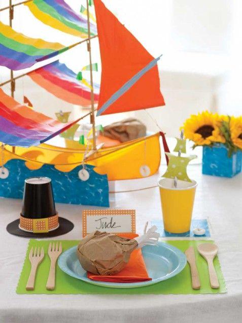 Kids' Table Place Settings