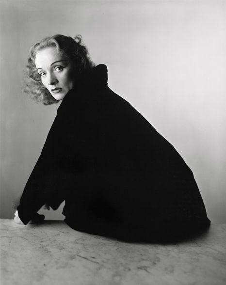 Marlene Dietrich, New York, 1948  by Irving Penn.