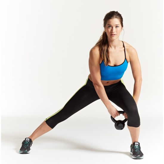 15-MINUTE WORKOUT: A four-exercise kettlebell workout for a bangin' physique: www.womenshealthm...