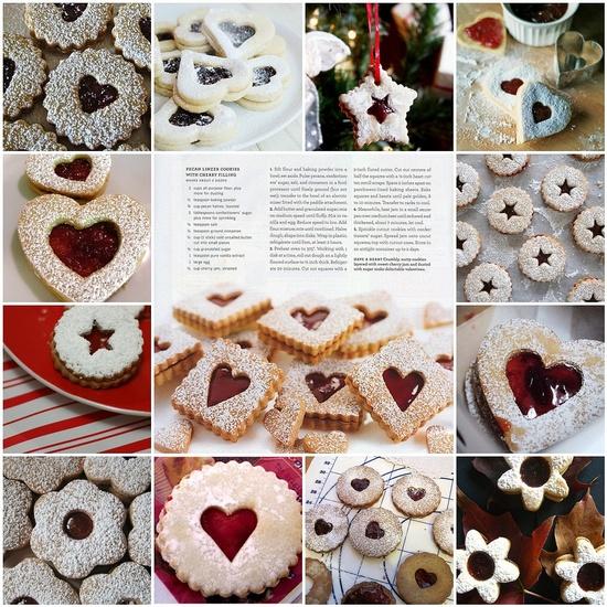 Pecan Linzer Cookies...MMMMMmmm via *gele* flickr