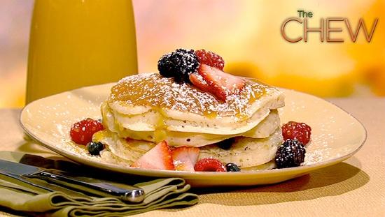 Ruth Sottile's Lemon Ricotta Pancakes Recipe #thechew