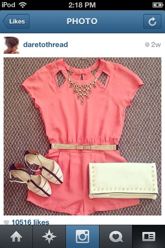 ---->Cute Summer Outfit<----
