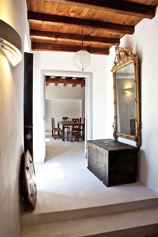 lookslikewhite - lookslikewhite Blog - Greek IslandHome. This beautiful home is on the Greek island of Hydra.