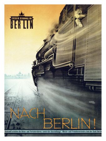Travel Poster - Germany - Go to Berlin (1926)
