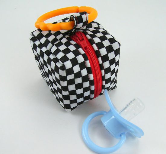 Pacifier Pouch Sewing Pattern Tutorial by aSundayGirl