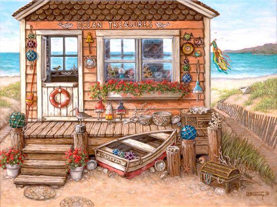 Ocean Treasures - Janet Kruskamp