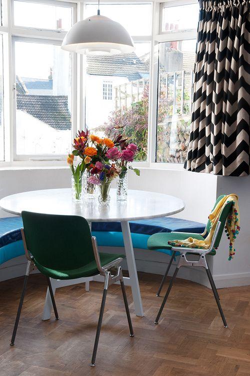 Sneak Peek: A Colorful English Home. #sneakpeek