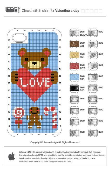 iphone DIY cross stitch case