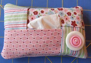 cute DIY tissue holder.