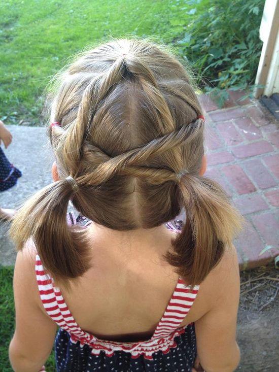 star hair style
