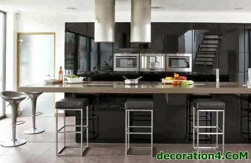 Black Kitchen Designs 2014 Sleek and modern, atramentous kitchens just alluvium style. See our arcade of atramentous kitchen architecture ideas . see outher kitchen in my websitein below thread