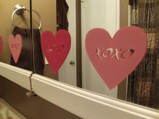 Great Valentine Bathroom Decor idea