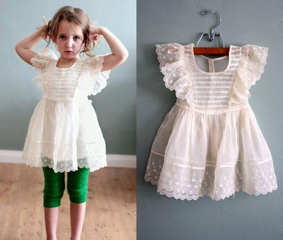 1950's vintage child's dress.