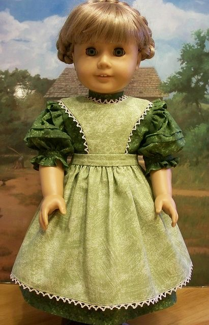 Summer Green Ensemble for Kirsten by Keepersdollyduds, via Flickr